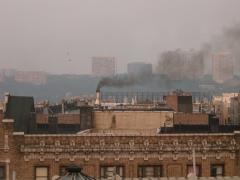 Smoke in Washington Heights
