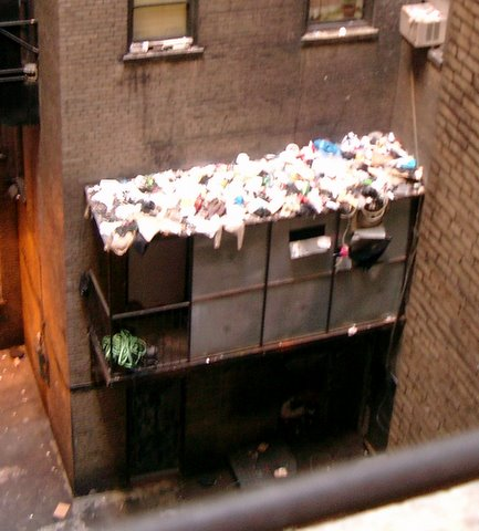 Garbage on Roof